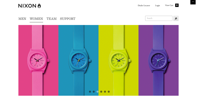 Nixon Watches Website